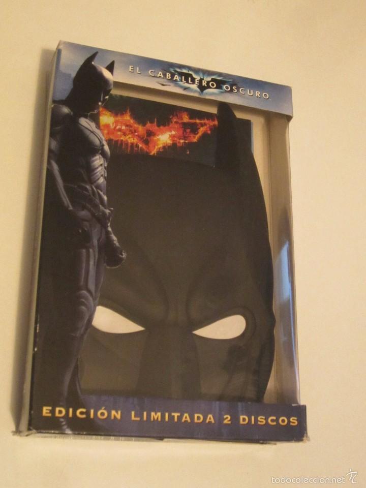 DVD BATMAN EL CABALLERO OSCURO EDICION MASCARA 2 DISCOS (Cine - Películas - DVD)