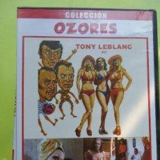 Cine: MARIANO OZORES - TRES SUECAS PARA TRES RODRÍGUEZ - DVD EN MUY BUEN ESTADO. Lote 56997904