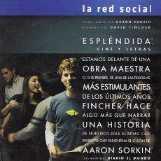 Cine: DVD LA RED SOCIAL (EDICIÓN COLECCIONISTA 2 DISCOS). Lote 57033246