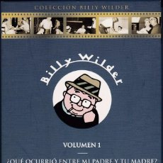 Cine: PACK: COLECCIÓN BILLY WILDER - VOLUMEN 1 - 5 PELÍCULAS. Lote 57045231