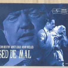 Cine: SED DE MAL DVD(CAJA METALICA ) ORSON WELLES EN ESTADO PURO...DIRIGIENDO Y ACTUANDO. UNA OBRA MAESTRA. Lote 76052046