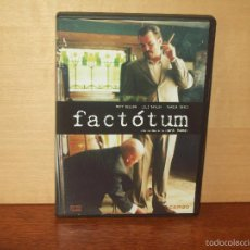 Cine: FACTOTUM - NATT DILLON - LILI TAYLOR - MARISA TOMEI - DIRIGIDA POR BENT HAMER - DVD. Lote 57074393