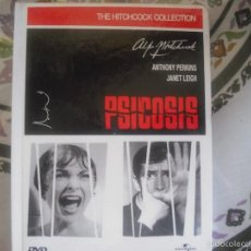 Cine: PSICOSIS DE ALFRED HITCHCOCK DVD. Lote 57132503