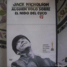 Cine: ALGUIEN VOLÓ SOBRE EL NIDO DEL CUCO DVD JACK NICHOLSON. Lote 57132531