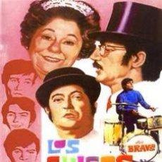 Cine: LOS CHICOS CON LAS CHICAS DVD NUEVO - LOS BRAVOS. Lote 115874710