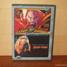Cine: FLASH GORDON - BARB - WIRE - 2 PELICULAS EN 2 DVD. Lote 103841590