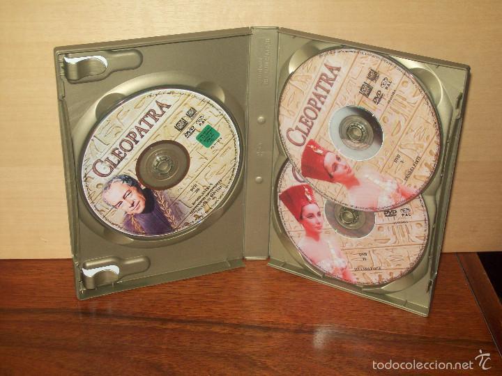 Cine: CLEOPATRA - ELIZABETH TAYLOR - RICHARD BURTON - TRIPLE DVD + LIBRETO EDICION ESPECIAL - Foto 2 - 57237315