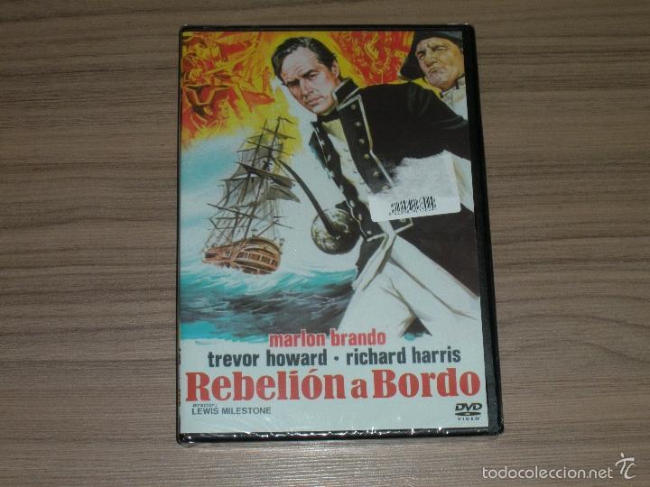 REBELION A BORDO DVD MARLON BRANDO TREVOR HOWARD RCIHARD HARRIS NUEVA PRECINTADA (Cine - Películas - DVD)