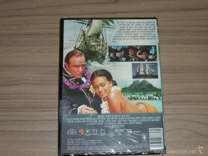 Cine: REBELION a BORDO DVD Marlon Brando Trevor Howard Rcihard Harris NUEVA PRECINTADA - Foto 2 - 182665470