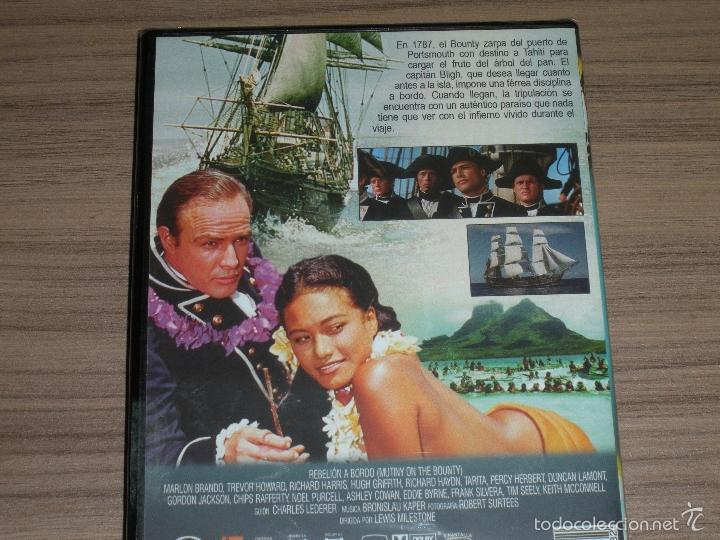 Cine: REBELION a BORDO DVD Marlon Brando Trevor Howard Rcihard Harris NUEVA PRECINTADA - Foto 3 - 182665470
