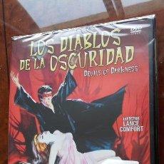 Cine: DVD LOS DIABLOS DE LA OSCURIDAD (1965) - LANCE COMFORT - WILLIAM SYLVESTER. Lote 57264182
