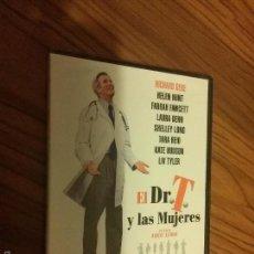 Cine: EL DR. T Y LAS MUJERES. ROBERT ALTMAN. RICHARD GERE. HELEN HUNT. DVD PRECINTADO.. Lote 57265619