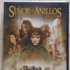 Cine: DOBLE DVD EL SEÑOR DE LOS ANILLOS, LA COMUNIDAD DEL ANILLO. Lote 57266663