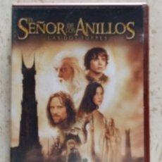 Cine: DOBLE DVD EL SEÑOR DE LOS ANILLOS, LAS DOS TORRES. Lote 57266667