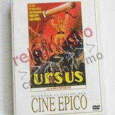 Cine: URSUS - DVD PELÍCULA AVENTURAS - MARÍA LUISA MERLO ED FURY CARLO CAMPOGALLIANI LUIS PRENDES - ESPAÑA. Lote 57333471