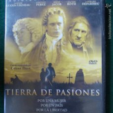 Cine: CINE DVD TIERRA DE PASIONES. Lote 57338280