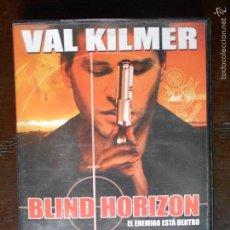Cine: DVD BLIND HORIZON - VAL KILMER (6I). Lote 57360986