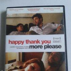 Cine: HAPPY THANK YOU MORE PLEASE ** JOSH RADNOR, MICHAEL ALGIERI ** DE CULTO ** DESCATALOGADA. Lote 57367453