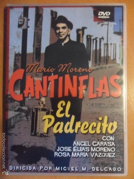 EL PADRECITO. DVD DE LA PELICULA DE MARIO MORENO CANTINFLAS. ESTUCHE FINO. (
