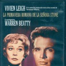 Cine: LA PRIMAVERA ROMANA DE LA SEÑORA STONE. Lote 57418662