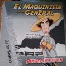 Cine: EL MAQUINISTA DE LA GENERAL. BUSTER KEATON.. Lote 57428374