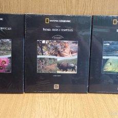 Cine: NATIONAL GEOGRAPHIC. BIOSFERA. 10 DVD EN 3 VOLÚMENES. ED / ENCICLOPÈDIA CATALANA / PRECINTADO.. Lote 57494701