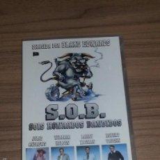 Cine: S.O.B. SOIS HONRADOS BANDIDOS DVD JULIE ANDREWS WILLIAM HOLDEN ROBERT VAUGHN NUEVA PRECINTADA. Lote 183995365