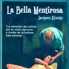 Cine: LA BELLA MENTIROSA (FRANCÉS E INGLES). LA OPORTUNIDAD DE HACERSE CON UNO DE LOS FILMS MAS DESEADOS. Lote 57591800
