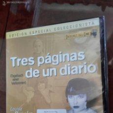 Cine: DVD TRES PÁGINAS DE UN DIARIO (1929) - LOUISE BROOKS - GEORG WILHELM PABST. Lote 57687696