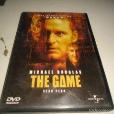 Cine: DVD THE GAME SOLO CARATULA SIN DISCO. Lote 57695477