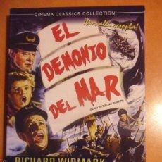 Cine: EL DEMONIO DEL MAR. DVD DE LA PELICULA DE HENRY HATHAWAY. CON RICHARD WIDMARK, LIONEL BARRYMORE... B. Lote 57719686