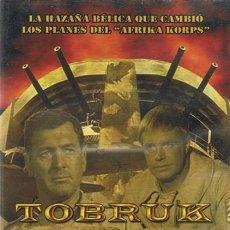 Cine: DVD TOBRUK ROCK HUDSON. Lote 57765154
