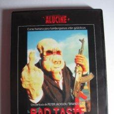 Cine: BAD TASTE (MAL GUSTO) • DVD • DESCATALOGADA. Lote 57779182