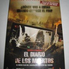 Cine: EL DIARIO DE LOS MUERTOS (EDICIÓN 1 DVD) • COMO NUEVO. Lote 57779866