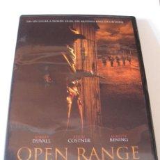 Cine: OPEN RANGE • KEVIN COSTNER • DVD COMO NUEVO. Lote 57779946