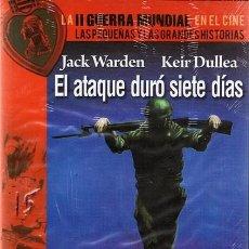Cine: DVD EL ATAQUE DURÓ SIETE DÍAS JACK WARDEN (PRECINTADO). Lote 57813929