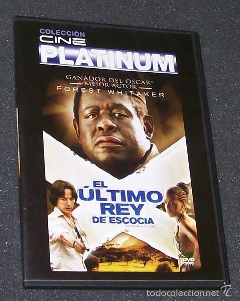 EL ULTIMO REY DE ESCOCIA -DVD- FOREST WHITAKER, JAMES MCAVOY, GILLIAN ANDERSON... (Cine - Películas - DVD)