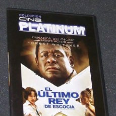 Cine: EL ULTIMO REY DE ESCOCIA -DVD- FOREST WHITAKER, JAMES MCAVOY, GILLIAN ANDERSON.... Lote 57815353