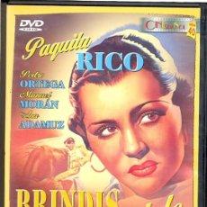 Cine - BRINDIS A MANOLETE (FLORIAN REY +PAQUITA RICO ) ...CON AUTENTICAS FILMACIONES DE MANOLETE. - 57820650