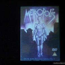 Cine: METROPOLIS - FRITZ LANG'S 1926 CLASSIC (DVD COMO NUEVO). Lote 277678503