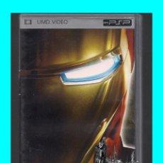 Cine: IRON MAN I - PELÍCULA ORIGINAL PARA SONY PSP UMD - EXCELENTE. Lote 162811184