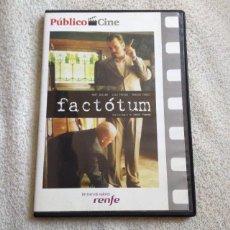 Cine: FACTÓTUM DVD DE BENT HAMER CON MATT DILLON & LILI TAYLOR Y MARISA TOMEI. Lote 57881147