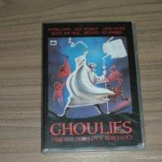 Cine: GHOULIES DVD TERROR NUEVA PRECINTADA. Lote 98851016