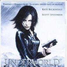 Cine: DVD ** UNDERWORLD EVOLUTION **DE LEN WISEMAN CON KATE BECKINSALE, SCOTT SPEEDMAN. Lote 57987859