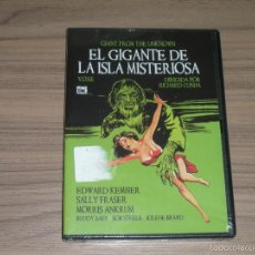 Cine: EL GIGANTE DE LA ISLA MISTERIOSA DVD NUEVA PRECINTADA. Lote 221861240