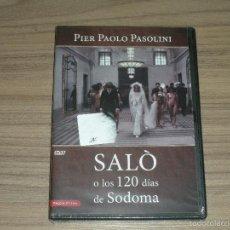 Cine: SALO O LOS 120 DIAS DE SODOMA DVD NUEVA PRECINTADA. Lote 243779570