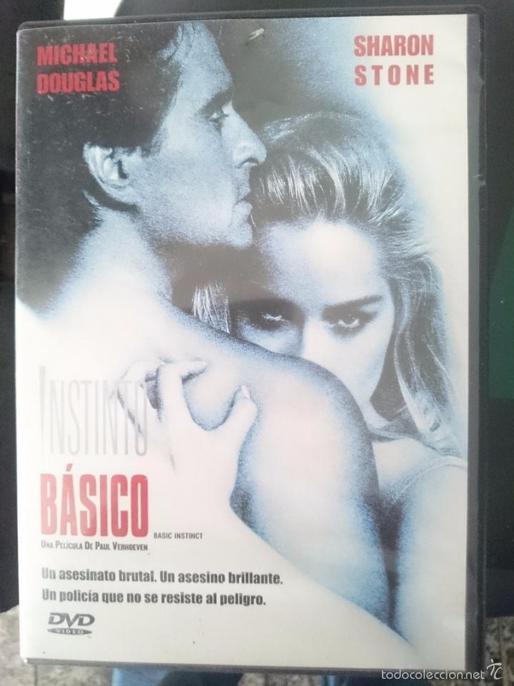DVD PELICULA INSTINTO BASICO SHARON STONE (Cine - Películas - DVD)