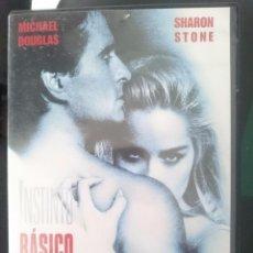 Cine: DVD PELICULA INSTINTO BASICO SHARON STONE. Lote 58069172