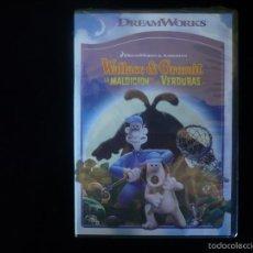 Cine: WALLACE & GROMIT, LA MALDICION DE LAS VERDURAS (DVD NUEVO PRECINTADO). Lote 293977233