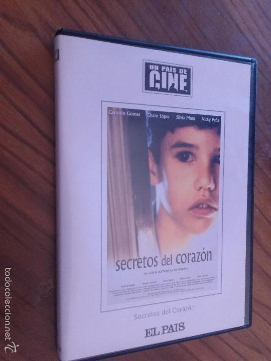 SECRETOS DEL CORAZÓN. MONTXO ARMENDÁRIZ. COLECCIÓN EL PAIS DE CINE. BUEN ESTADO (Cine - Películas - DVD)